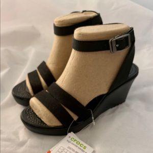 Crocs wedge sandals